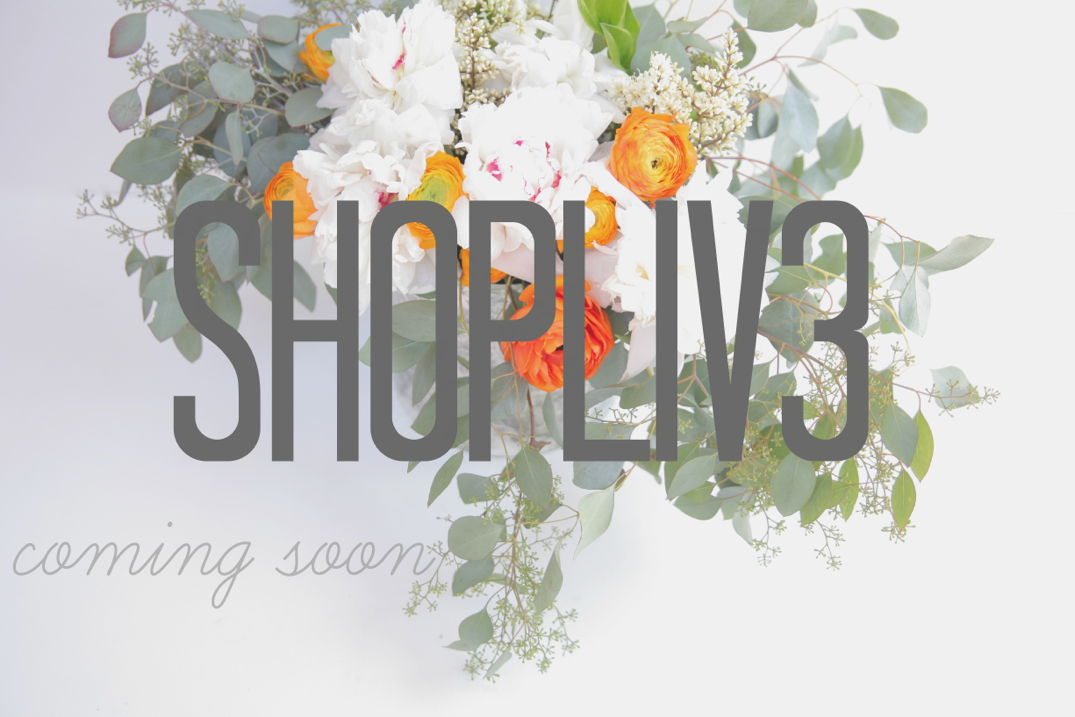 shop liv3 coming soon